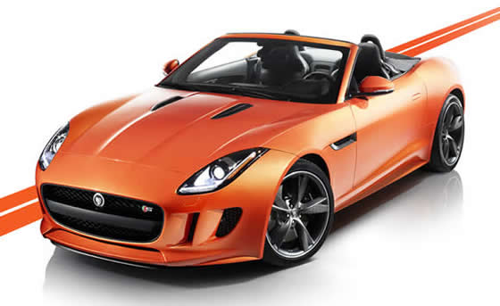 2013 Jaguar F Type Roadster