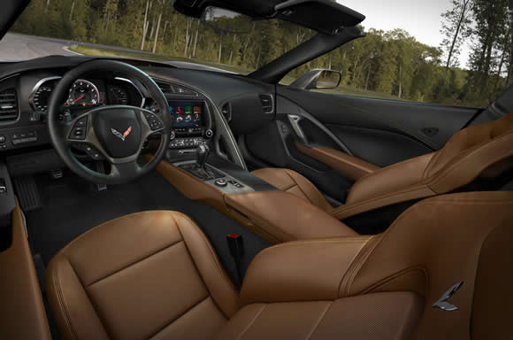 Corvette Stingray Convertible interior