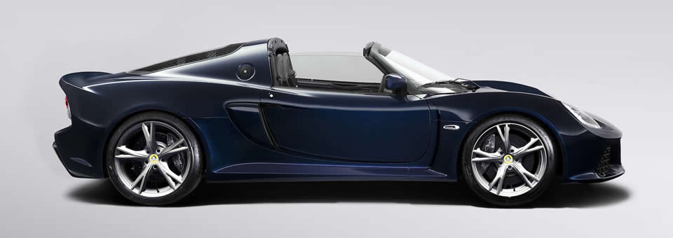 Lotus Exige S Roadster available in 2013