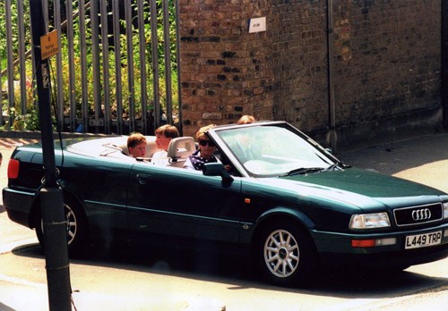 Princess Diana Audi Cabriolet