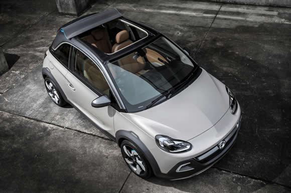 Vauxhall Adam Convertible