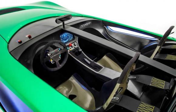 Caterham AeroSeven Concept interior