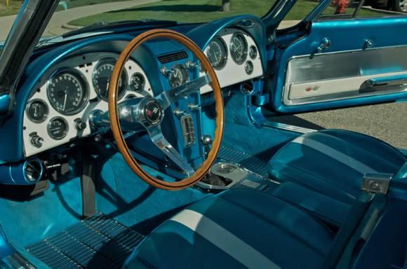 Harley Earl Corvette interior