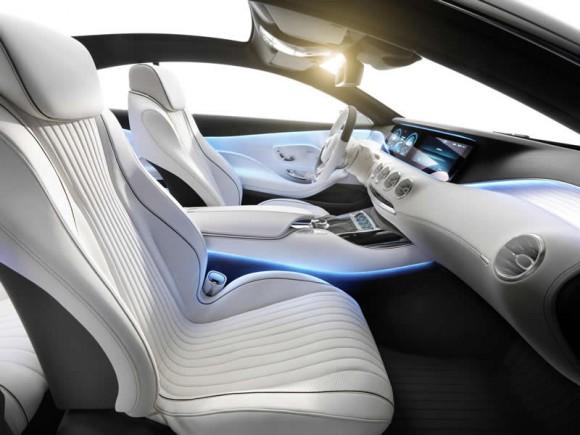 Mercedes S-Class Convertible interior