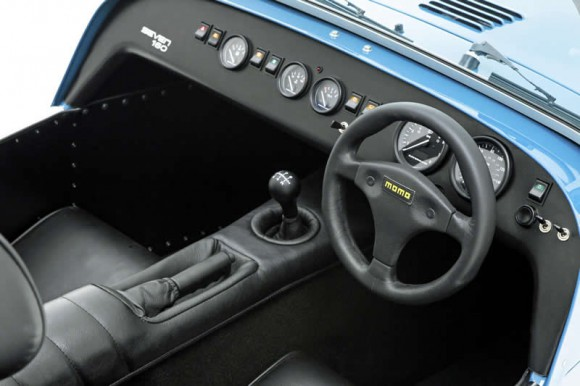 Caterham  Seven 160 interior