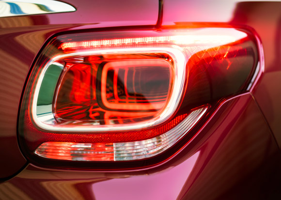 Citroen DS3 tail light