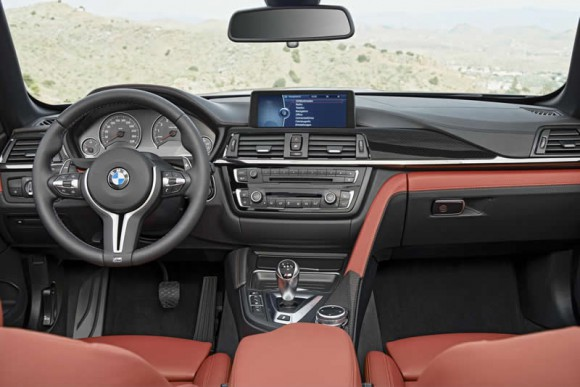 BMW M4 Convertible interior