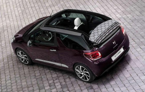 Citroen DS3 Cabrio rear