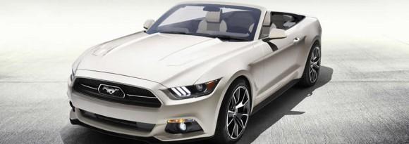 50th Mustang Convertible