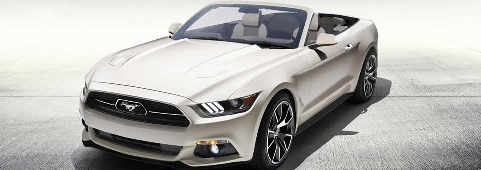 unique first mustang convertible a charity prize