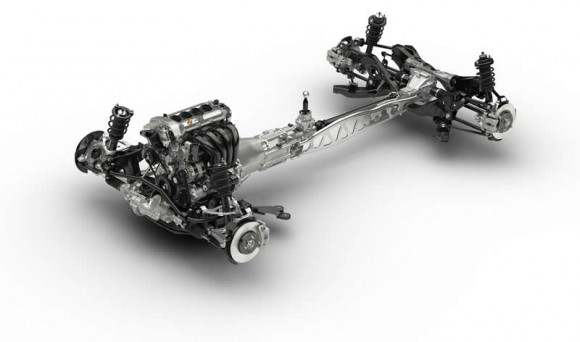 2015 Mazda MX5 Chassis