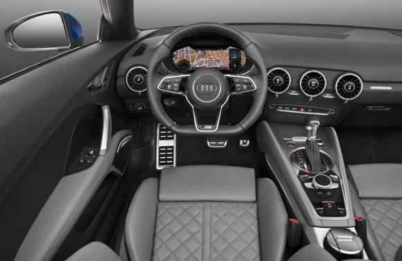 Audi TT Roadster interior