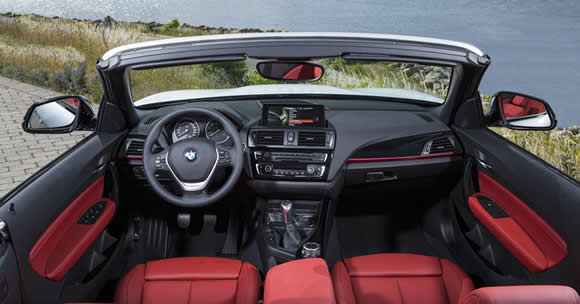 BMW 2-Series Convertible interior