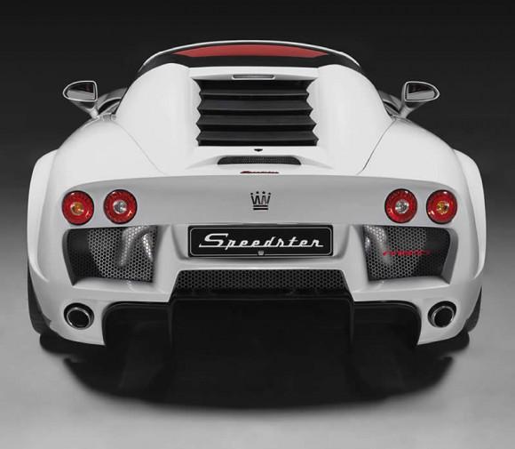 Noble Speedster 600 rear