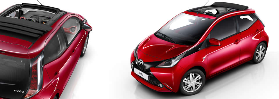 toyota aygo x wave convertible revealed. Black Bedroom Furniture Sets. Home Design Ideas