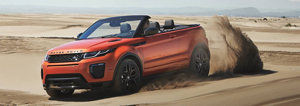 range rover evoque convertible unveiled. Black Bedroom Furniture Sets. Home Design Ideas