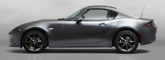 Mazda MX-5 RF roof up
