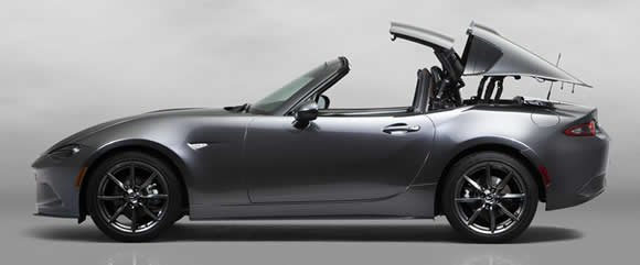 Mazda MX-5 RF roof operating