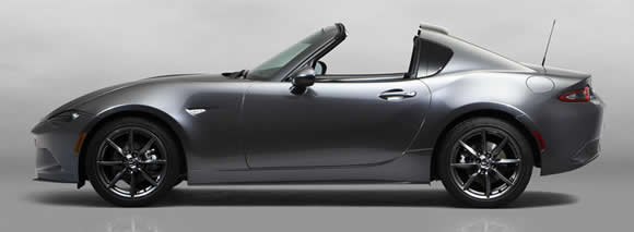 Mazda MX-5 RF roof down