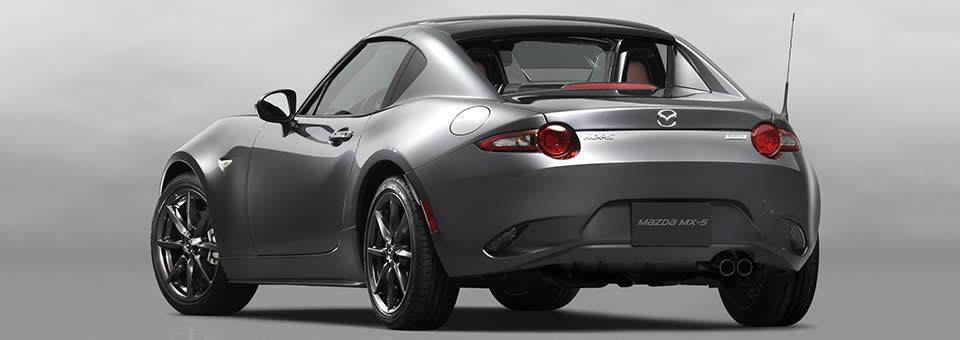 mazda mx 5 rf targa style hardtop convertible revealed. Black Bedroom Furniture Sets. Home Design Ideas