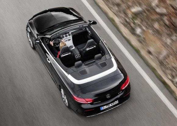 Mercedes C-Class Cabriolet above