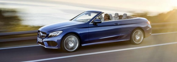 New Mercedes C-Class Cabriolet