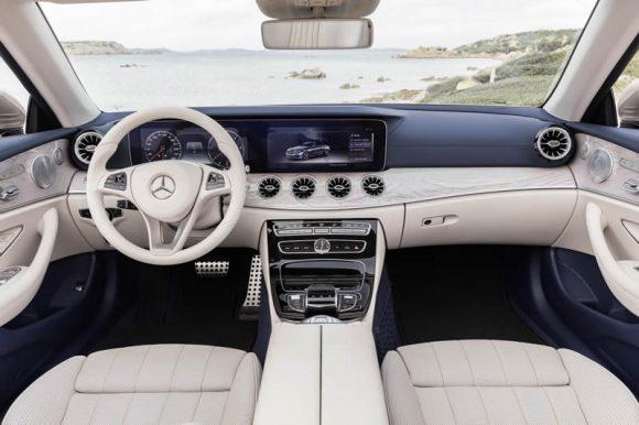 Mercedes E-Class Cabriolet interior