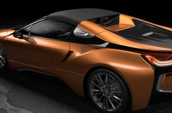BMW i8 Roadster roof