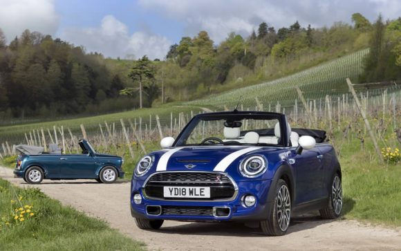 Mini Convertible at 25