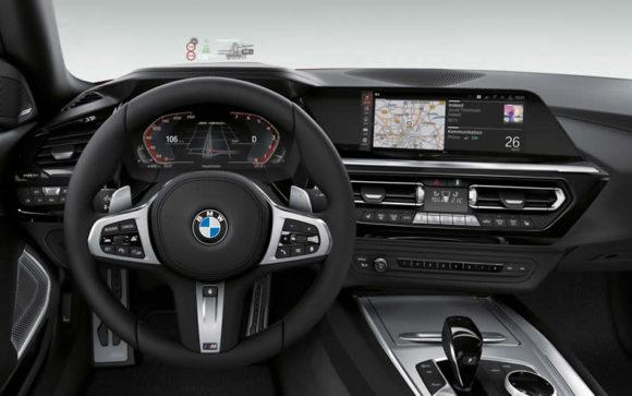 2019 BMW Z4 interior