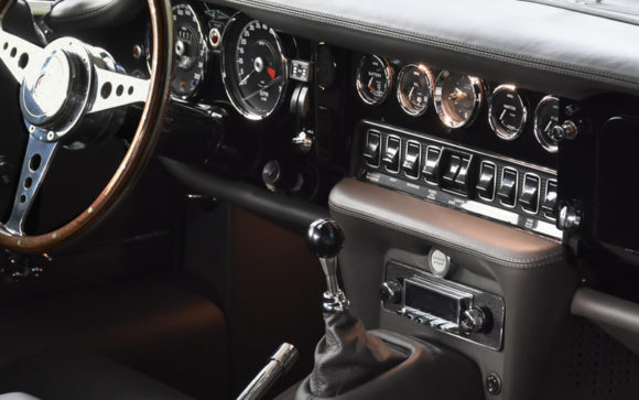 Jaguar E-type interior